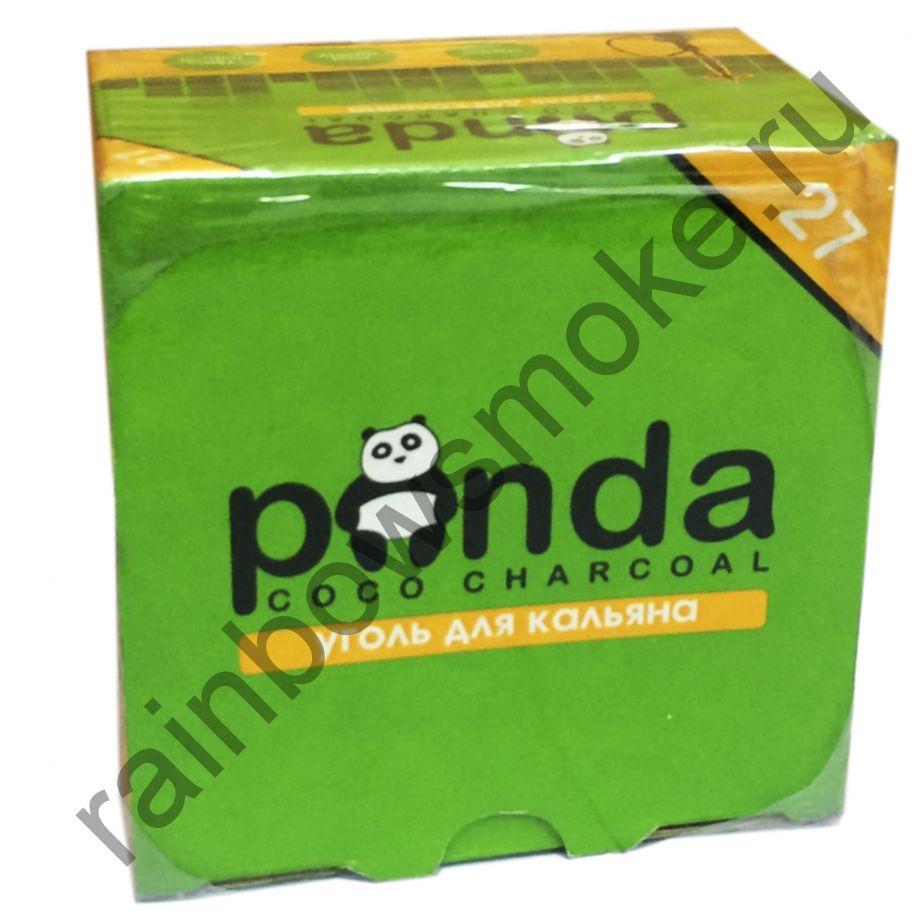 Уголь для кальяна Panda Green Flat (27 шт)