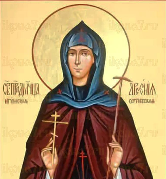 Арсения Добронравова (Шуйская) (рукописная икона)