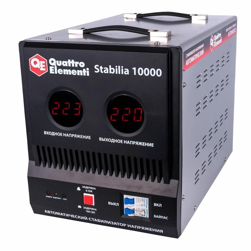 Стабилизатор напряжения QUATTRO ELEMENTI Stabilia 10000