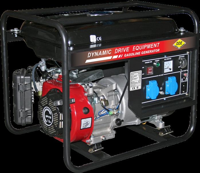 Генератор бензиновый DDE GG3300