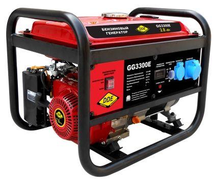 Генератор бензиновый DDE GG3300E