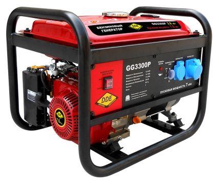 Генератор бензиновый DDE GG3300P