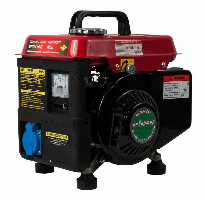 Генератор бензиновый инверторный DDE DPG1101i