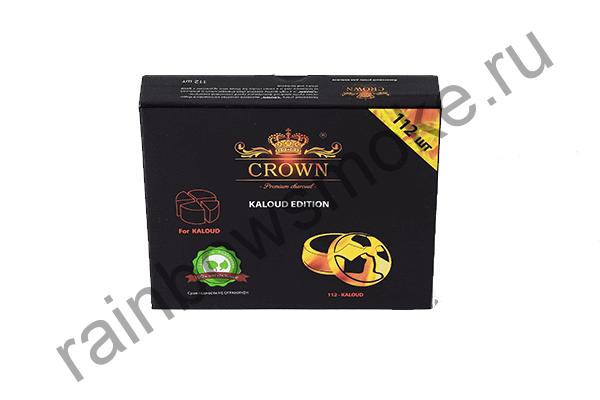 Уголь для кальяна Crown Kaloud (112 шт)