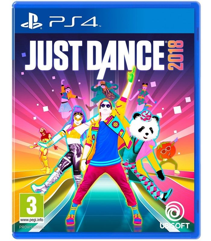 Игра Just Dance 2018 (PS4, русская версия)