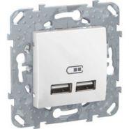 SE Unica Бел 2 USB зарядное устройство, 2.1А