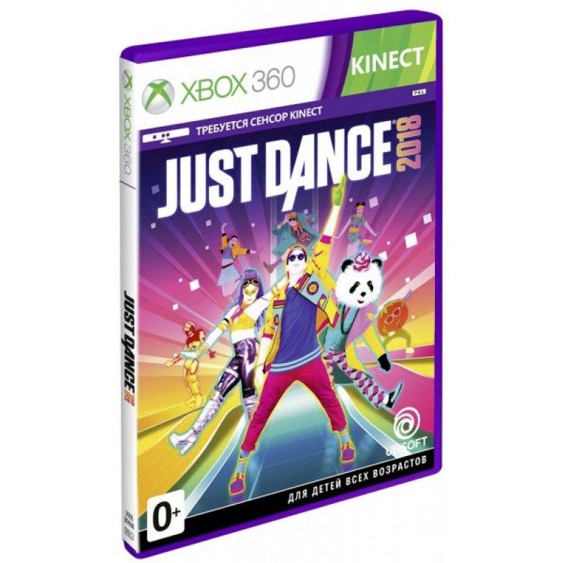 Игра Just Dance 2018 (Xbox 360, русская версия)