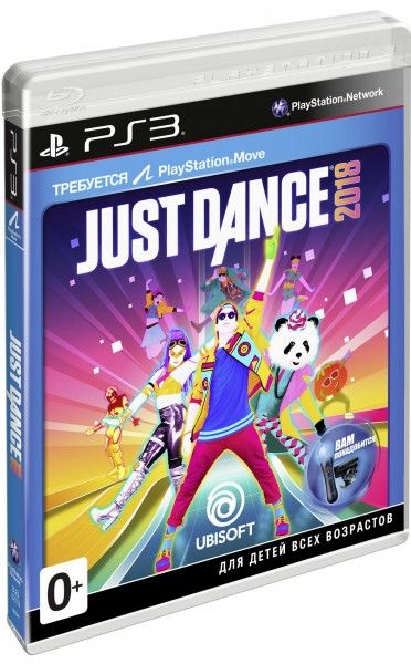 Игра Just Dance 2018 (PS3, русская версия)