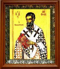 Нифонт Константинопольский (19х22), светлый киот