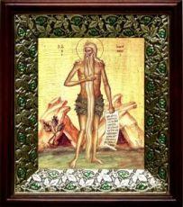 Онуфрий Великий (21х24), киот со стразами