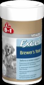 Пивные дрожжи 8in1 EXEL Brewers Yeast с чесноком