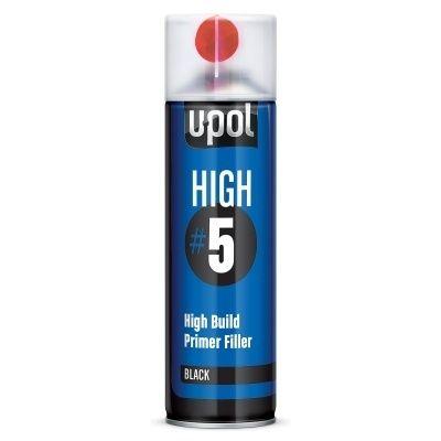 U-Pol HIGH #5 Грунт толстослойный выравнивающий, 450мл.