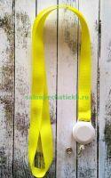 Лента для бейджей (ланьярд), желтый