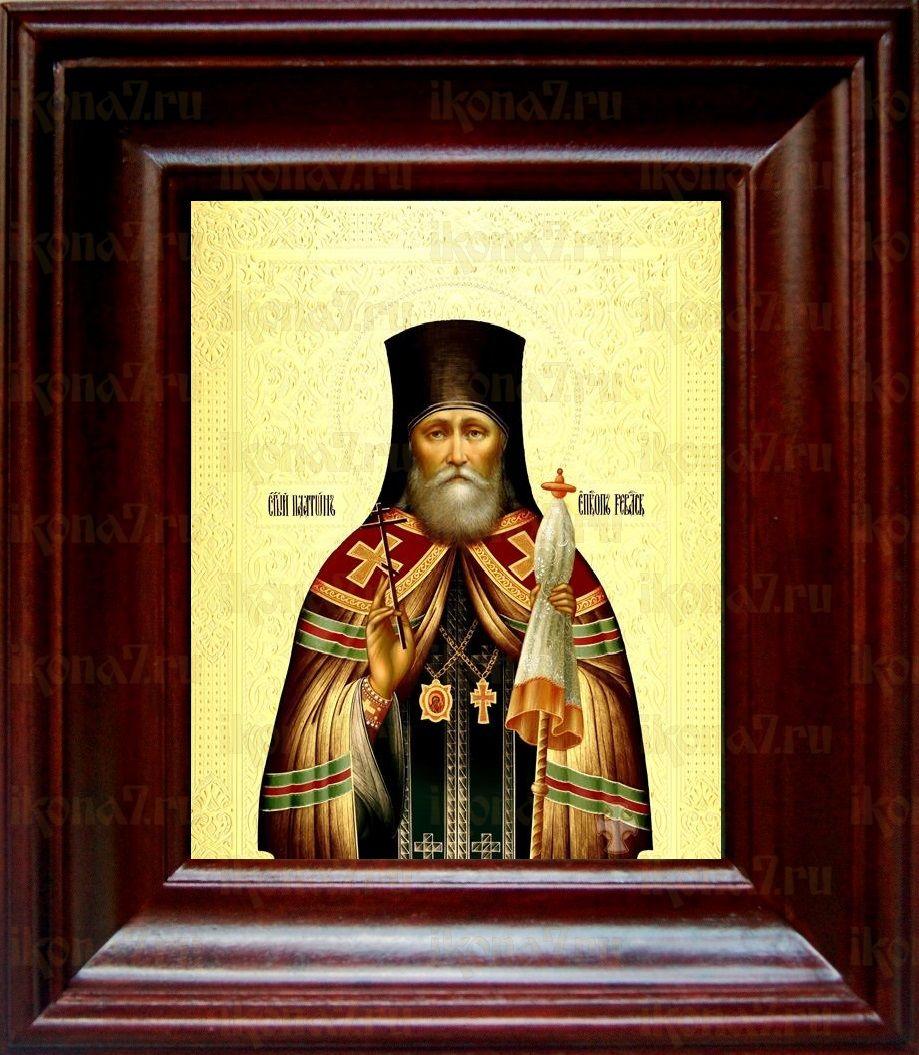 Платон Ревельский (21х24), простой киот