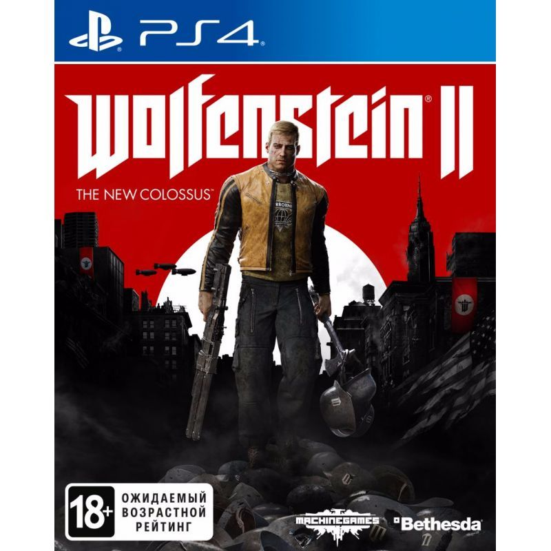 Игра Wolfenstein II : The New Colossus (PS4)