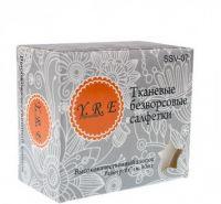 Безворсовые салфетки YRE 6*10 см 80 шт упак