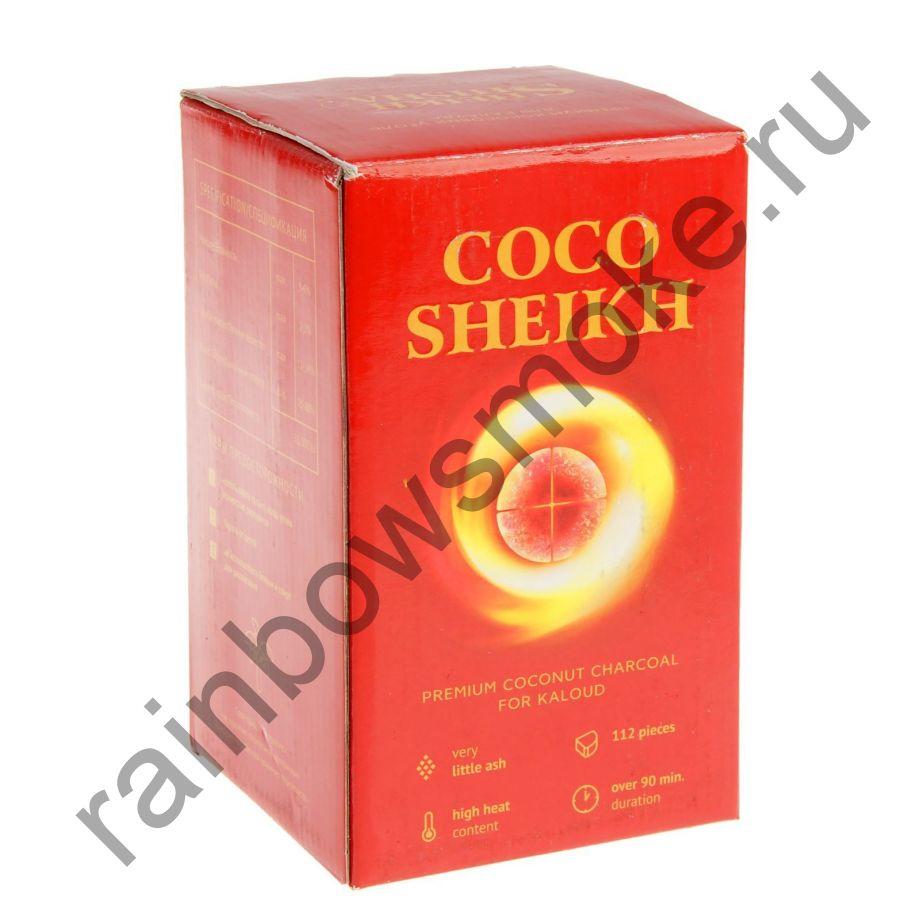 Уголь для кальяна Coco Sheikh Kaloud (112 шт)