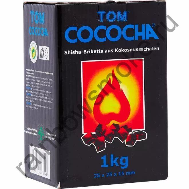 Уголь для кальяна Tom Cococha Blue (1 кг)