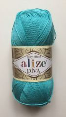 Diva  (ALIZE) 376-бирюзовый