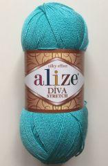 Diva  stretch  (ALIZE) 376-бирюза
