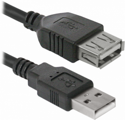 USB кабель USB02-10 USB2.0 AM-AF, 3.0м