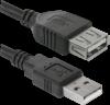 USB кабель USB02-17 USB2.0 AM-AF, 5.0м