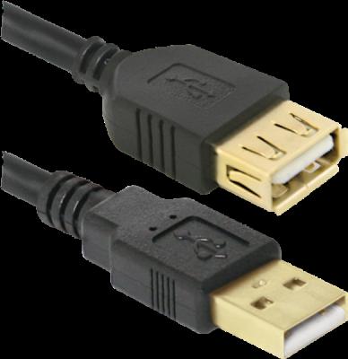 USB кабель USB02-17PRO USB2.0 AM-AF, 5.0м