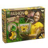 Набор для творчества Вышивка-сумка лентами Fashion Bag, Danko Toys