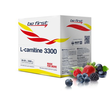 Be First L-carnitine 3300  20*25ml  скл2