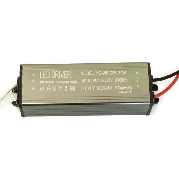 Драйвер для светодиодов 20W 700mA