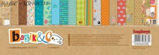 "Набор бумаги ""Basik&K"" 30,5*30,5 см"