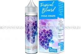 Е-жидкость Tropical Island Cold Grape, [BOX], 60 мл.