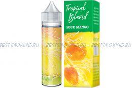 Е-жидкость Tropical Island Sour Mango, [BOX], 60 мл.