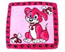 """Плед детский Дональд Дак 95х95 розовый  01008 оптом от производителя """"Мамин Малыш"""""""