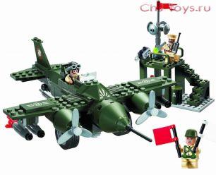 Конструктор Brick CombatZones Военная база
