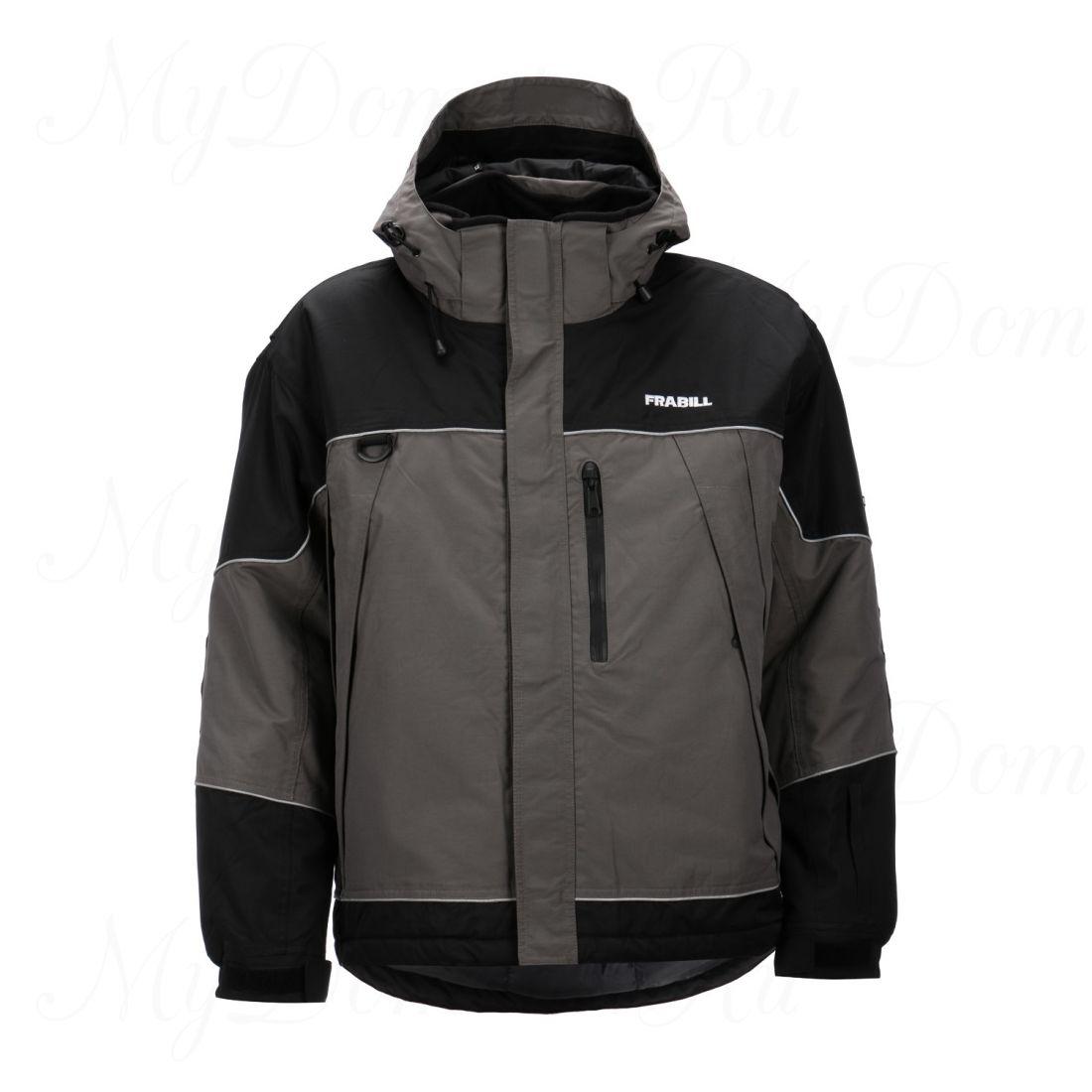 Куртка зимняя Frabill FXE SnoSuit Jacket Gray размер 2XL