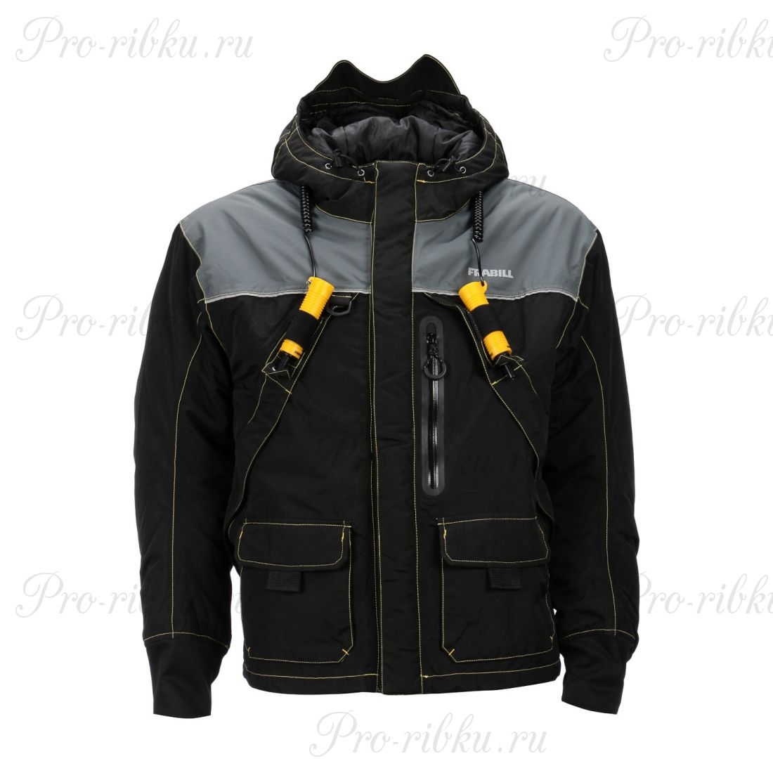 Куртка зимняя Frabill I3 Jacket, Black размер M