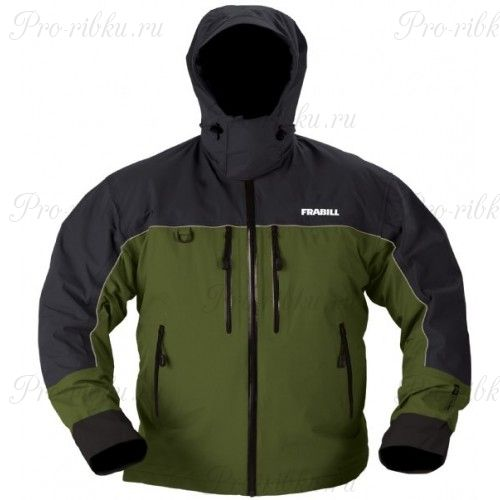 Куртка штормовая Frabill F4 Cyclone RainSuit Jacket Green размер L
