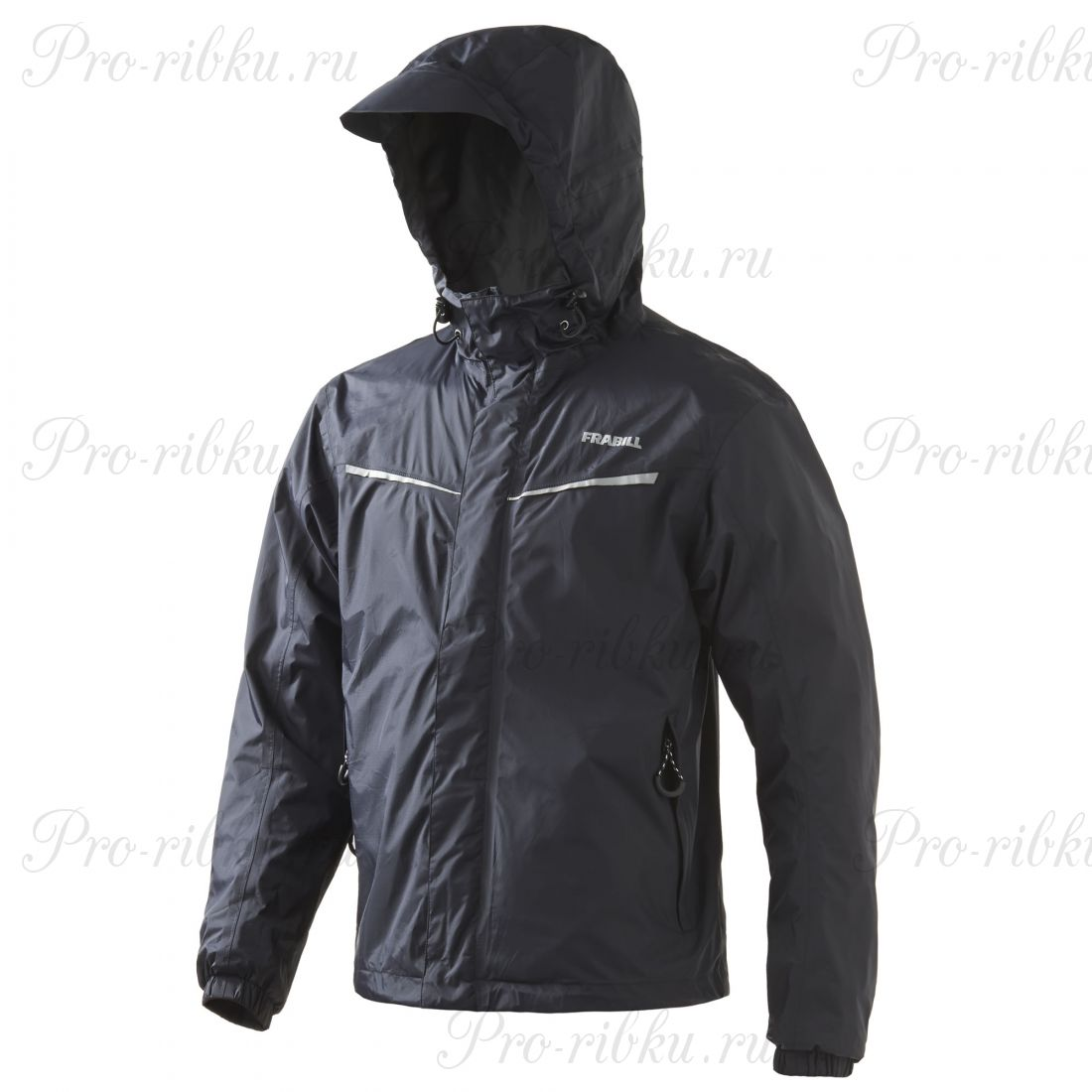 Куртка штормовая FRABILL Stow Jacket Black, р.2XL