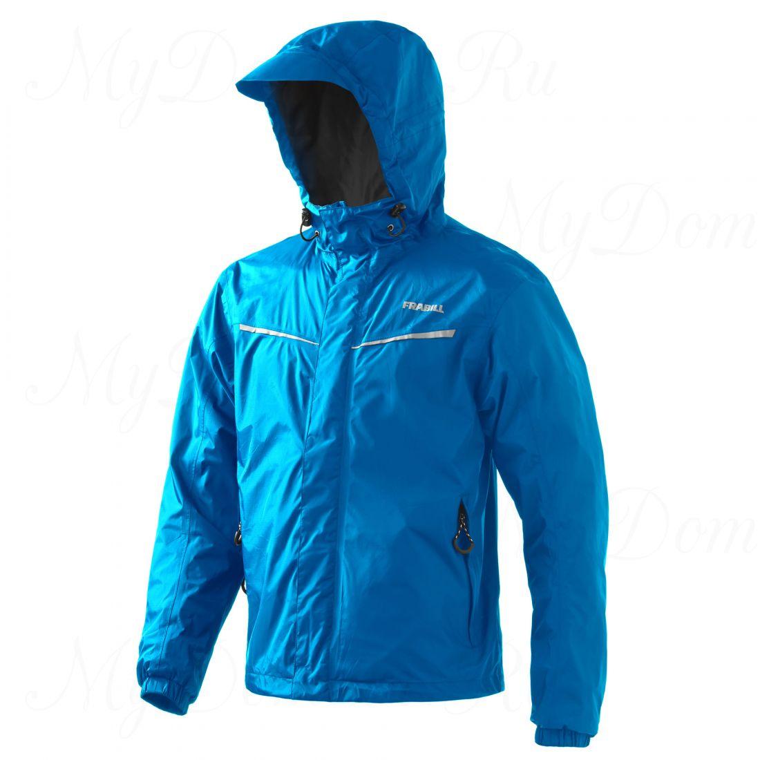 Куртка штормовая FRABILL Stow Jacket Costal Blue, р. L
