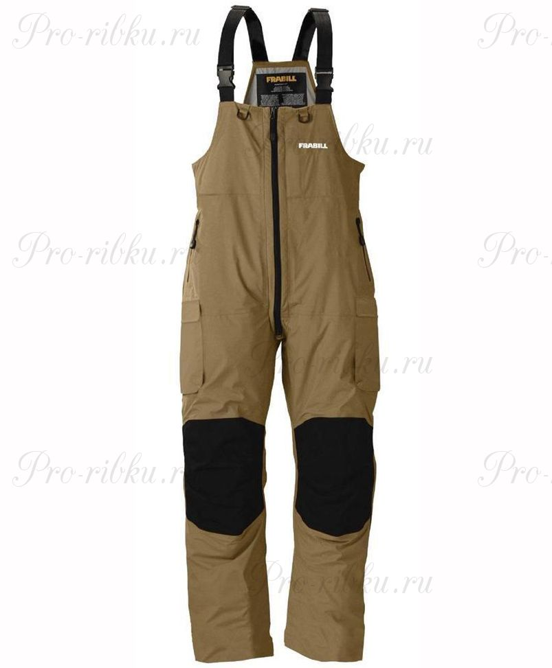 Полукомбинезон FRABILL F3 Gale Rainsuit Bib Navy Brown размер 2XL