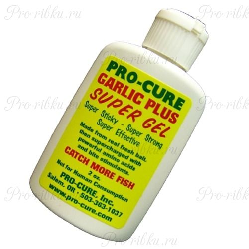 Аттрактант Pro-Cure Super Gel 2 oz. (Garlic Plus)