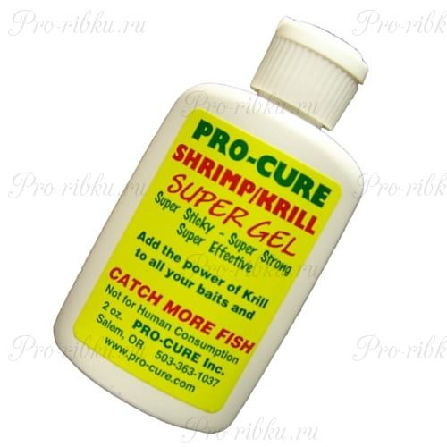 Аттрактант Pro-Cure Super Gel 2 oz. (Shrimp/Krill)