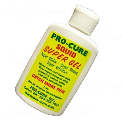 Аттрактант Pro-Cure Super Gel 2 oz. (Squid)