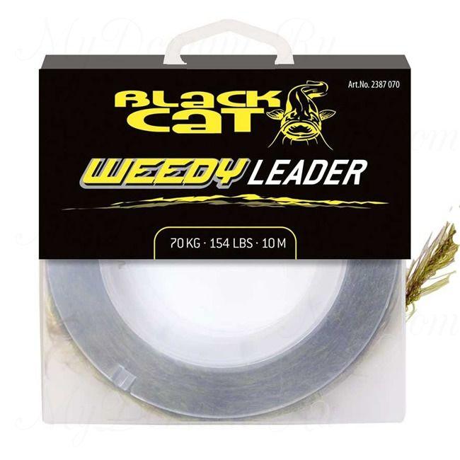 Леска Black Cat Weedy Leader (Brown/Green, 154lb (100 кг)