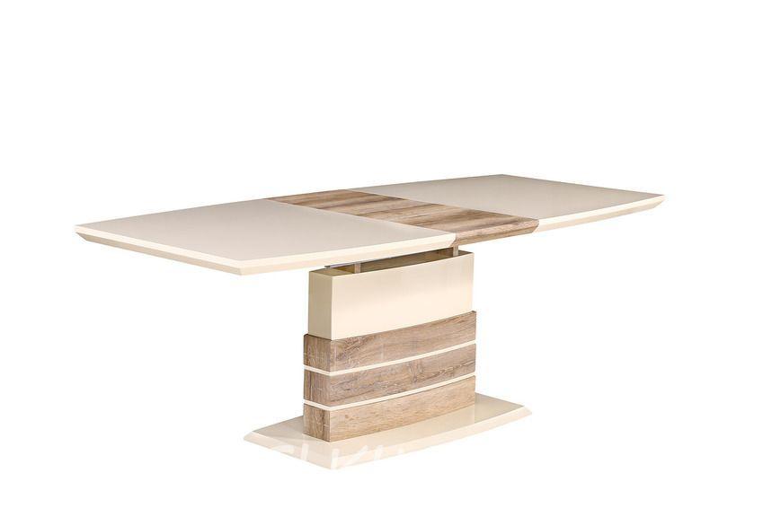 Стол MK-5801-BG цвет: Beige - прямоугольный раскладной