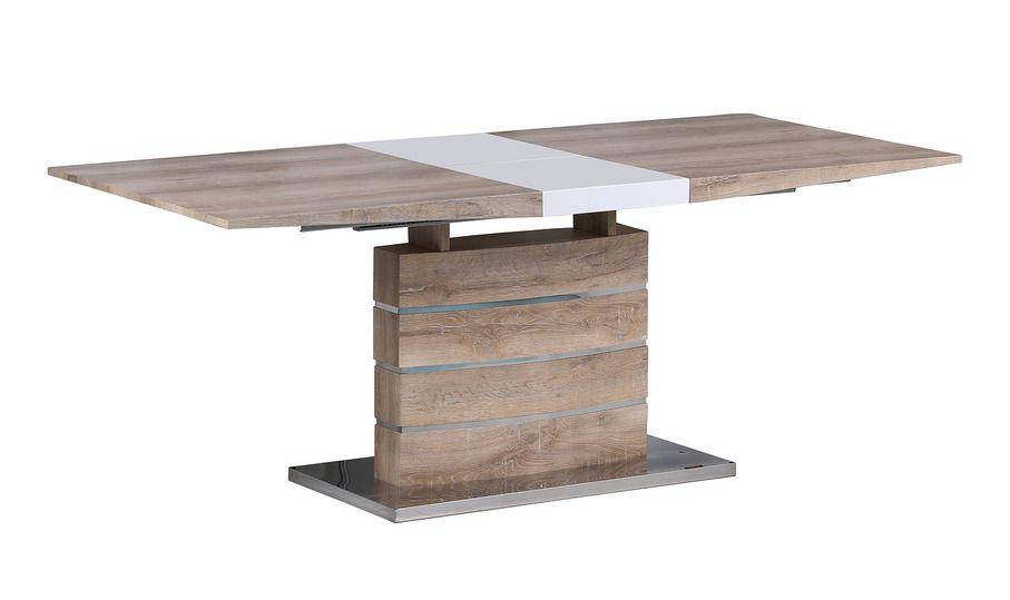 Стол MK-5802-WD цвет: Wood - прямоугольный раскладной