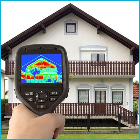 Тепловизионное обследование дома до 100 кв.м.