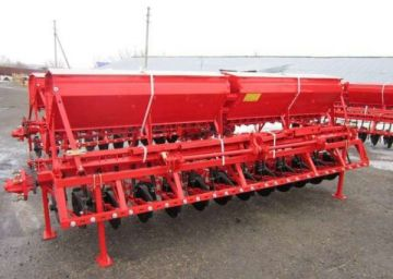 Сеялка СЗУ-Т-3.6 зернотукотравяная