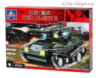 Конструктор Kazi Red Alert 3 Танк защитников KY81005